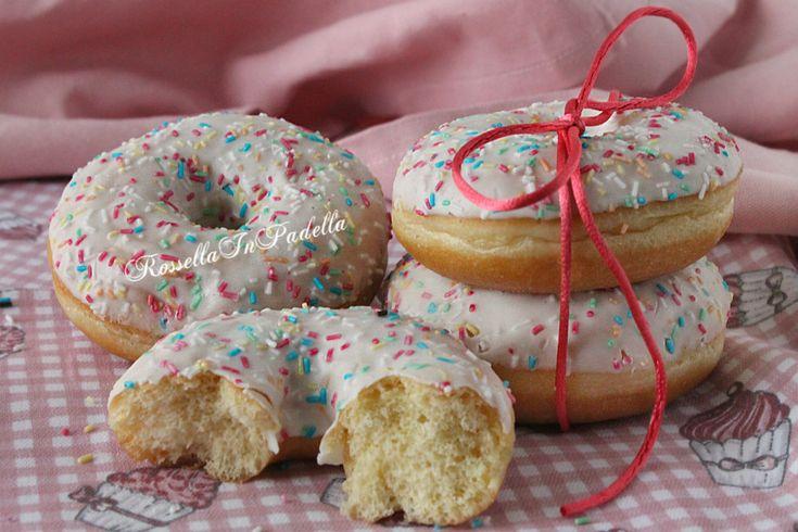 donuts, dolci di carnevale