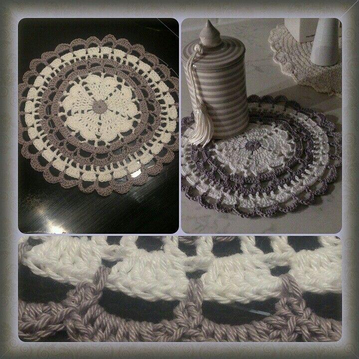 Mandala. Mönster av crochet_millan
