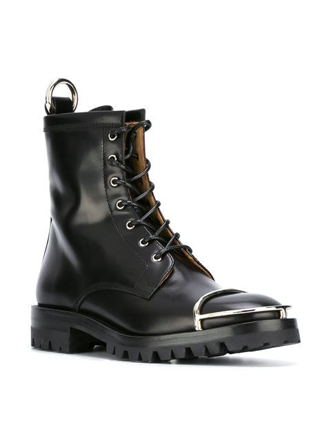 Alexander Wang армейские ботинки на шнуровке