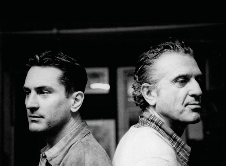 Robert De Niro and his father, Robert De Niro Sr