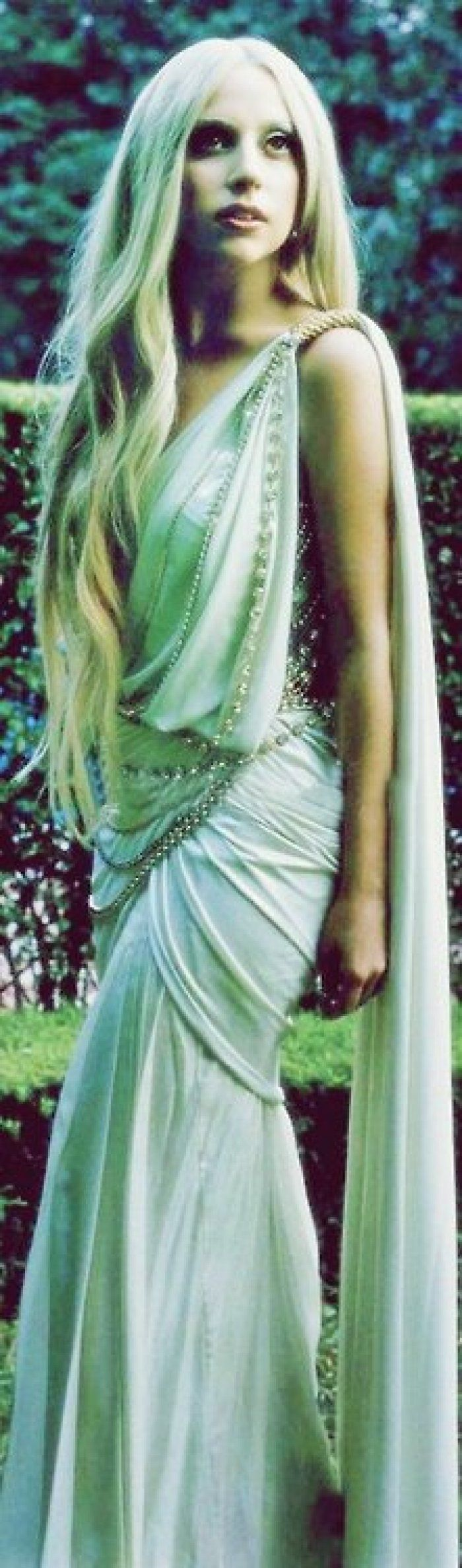 Gaga Greek Goddess...love her or not...we're talking about what she does! Outstanding!