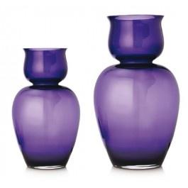 Vaso cristallo Izumi lilla cm. 36 - Ichendorf
