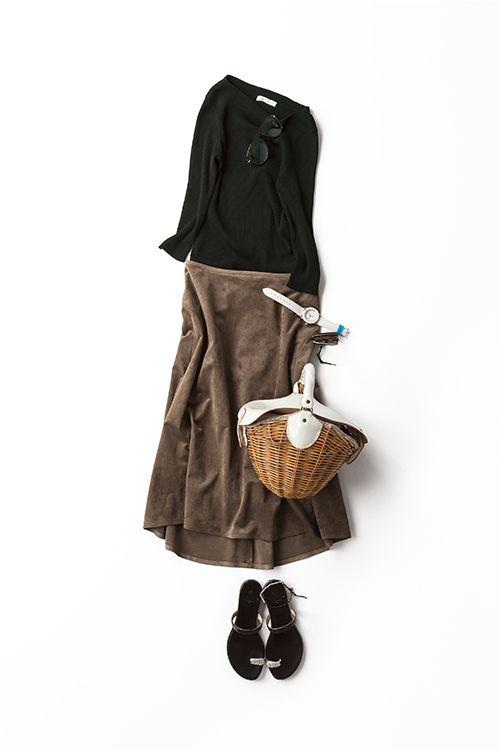 Kyoko Kikuchi's Closet | 夏の終わりに着たいミラノ配色とフレンチシルエット