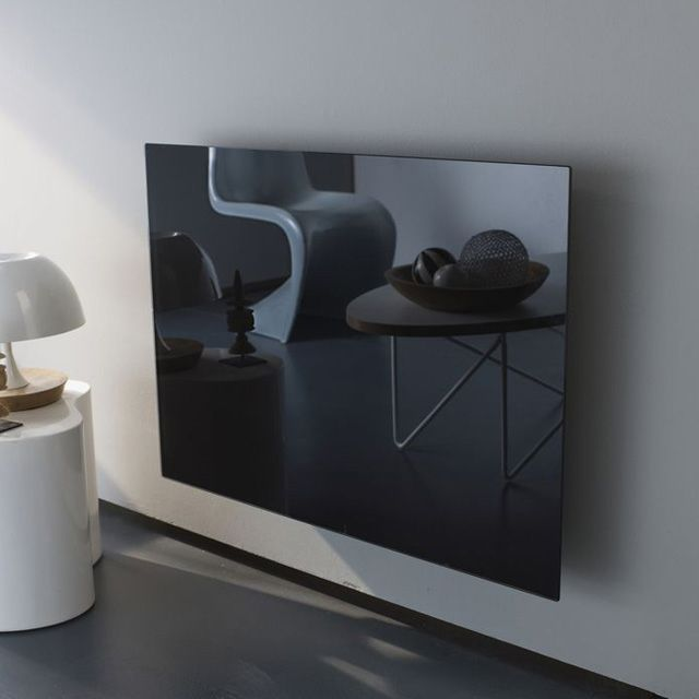 Panneaux rayonnant verre noir