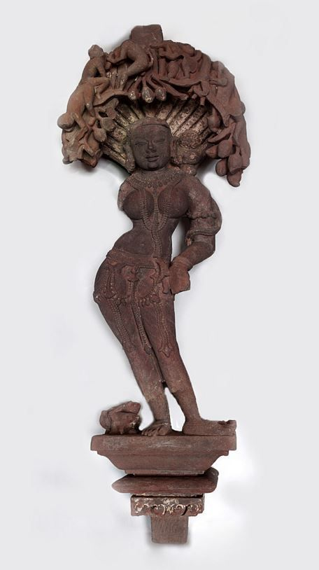 Sandstone Salabanjika.  Central India, probably Madhya Pradesh.  10th - 11th Century.