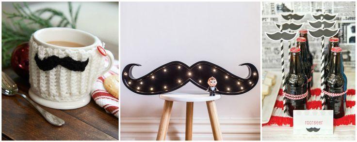 Este Movember Llena Tu Casa de Bigotes | Ideas Decoradores