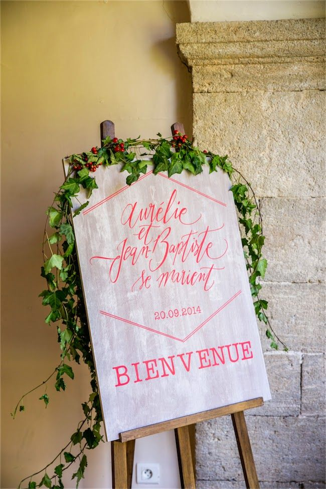 Un mariage au Domaine de la Castelette par Monsieur+Madame (M+M). Thème Automne. ©Cédric Dendoune. www.monsieurplusmadame.fr