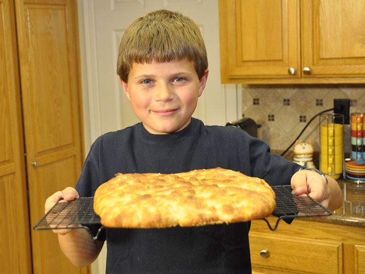 Ricetta Pizza Bianca (Focaccia) Semplice - VivaLaFocaccia - Le Ricette Semplici per il Pane in Casa