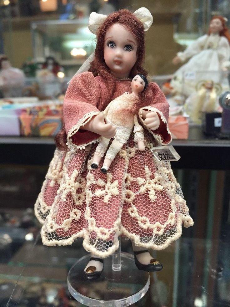 unknown artist - Victorian little giel; Ethel Hicks, Angel Children - doll