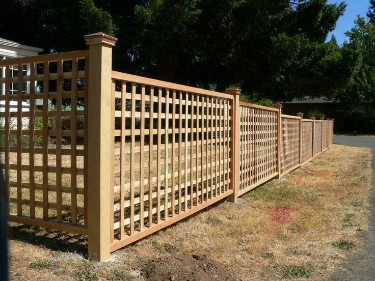 lattice fence blog premium fence and is a fence company in eugene