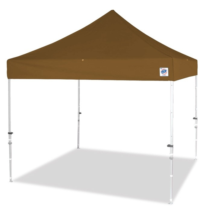 ez up part eclipse II steel 8x8 canopy top frame beige