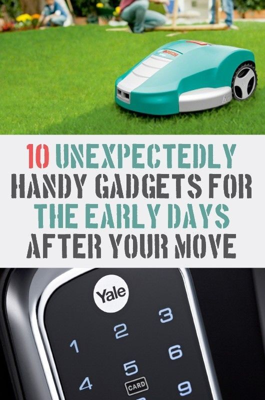 10 Unexpectedly Handy Gadgets for the Early Days After Your Move | The first few days in a new house are almost as stressful as the moving process itself. This selection of helpful gadgets will make it easier to navigate through those first few days...