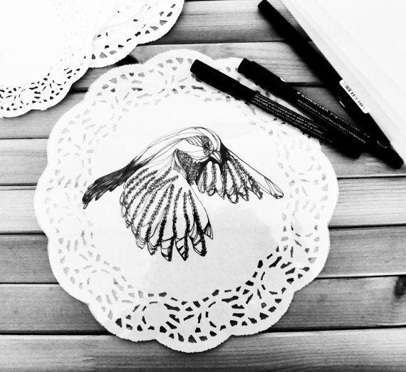 Fly bird by AIRAMINK on Etsy