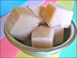 Vanilla Ice Cubes. This recipe would be great for home-made berry vanilla icecreams!