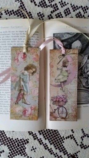 Easy diy tags. Print and glue on carboard or cut from book cover.