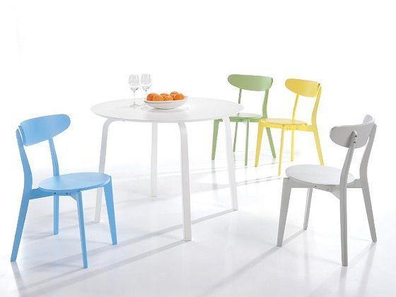 Setul de masa si scaune Rafael aduce un plus de culoare si veselie in bucataria ta! #SomProduct #InspiringComfort #mese #scaune #home