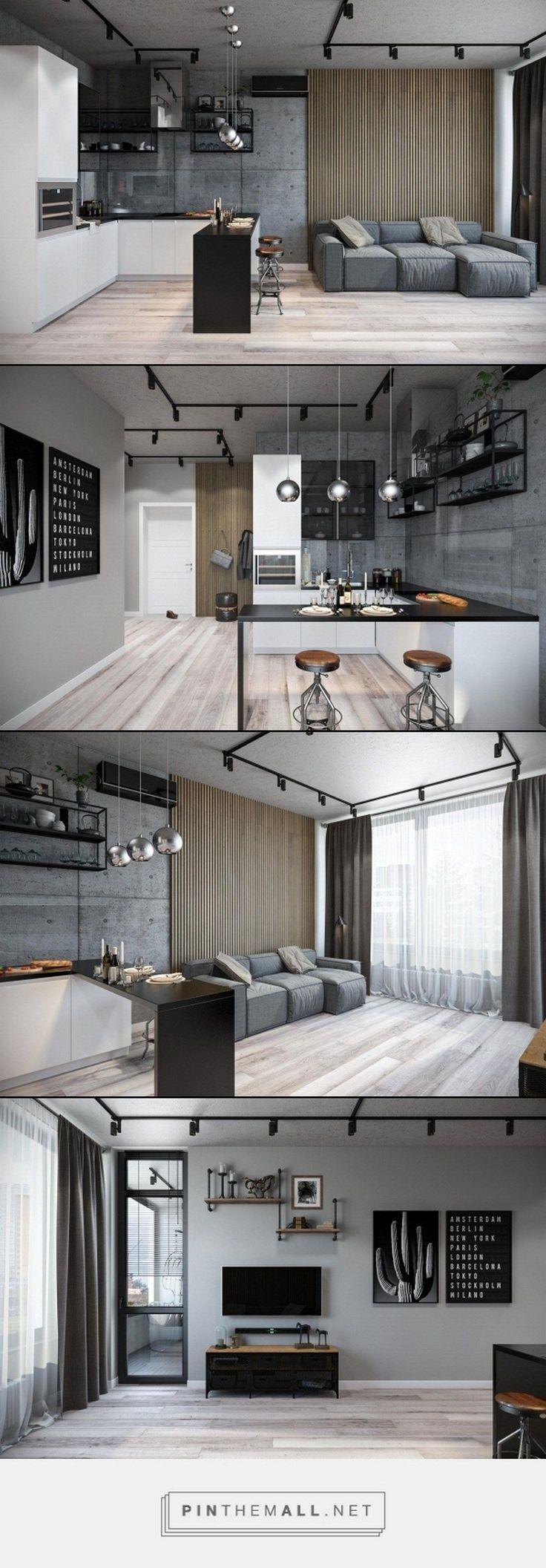10 interior design ideas to change your home for Diseno de apartamentos industriales