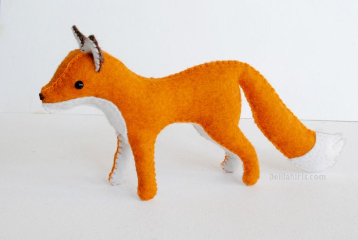 Felt Fox Pattern - Sew Your Own Woodland Animals