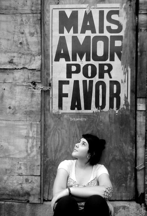 MAIS AMOR, POR FAVOR! http://superela.com/2015/10/06/mais-amor-por-favor/