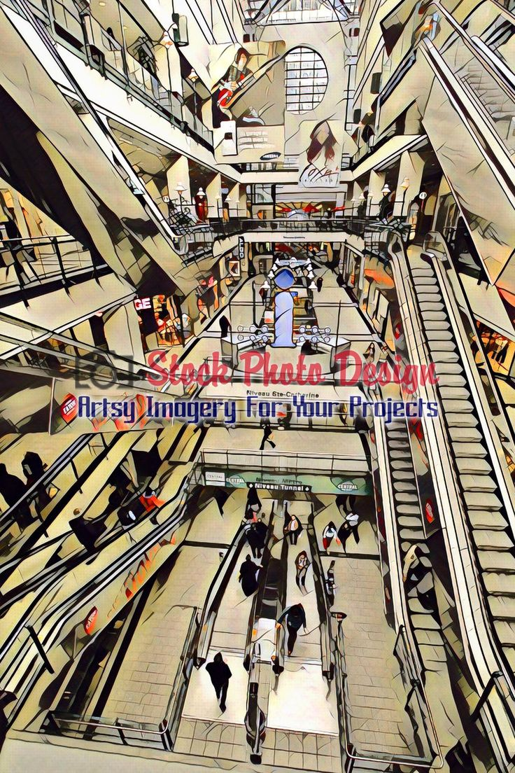 Multi-Floor Commercial Center Interior Picture 5 -