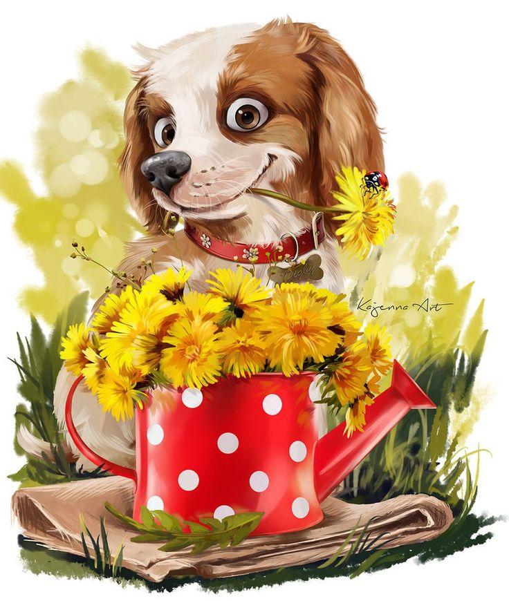 красивые открытки с цветами и животными просто запастись