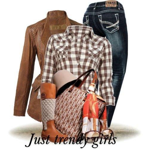 Fashion Plaid Shirts for woman http://www.justtrendygirls.com/fashion-plaid-shirts-for-woman/