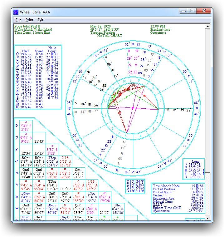 STARLITE FREE ASTROLOGY SOFTWARE