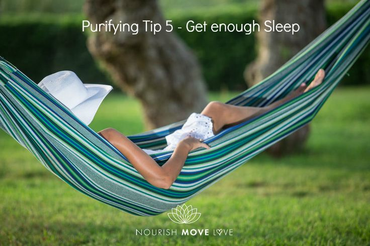 When you get 7-8 hours of sleep each night you give your body a chance to rest and recuperate. This is not a luxury but an important way that your body rebuilds and prepares for the activities that you have ahead the next day. It's imperative to rest and take care of yourself in this manner not only to function properly, but to keep the bad and harmful substances out as well.