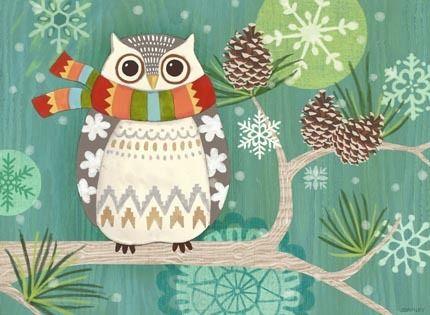 """""""Woodland Owl"""" by Jennifer Brinley"""