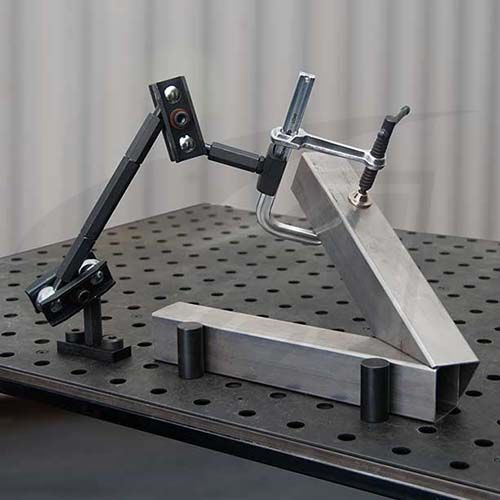 Click to see larger version of The Third Hand Modular Clamp - Welding Table Mount