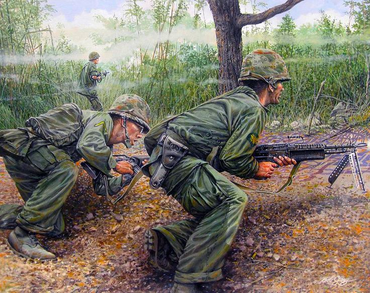 a discussion of the tactics used in the vietnam war In what was the most shocking search and destroy mission of the vietnam war, on march 16, 1968, lieutenant wl calley led a platoon of thirty men, members of charlie company, into a village in central quang ngai province.