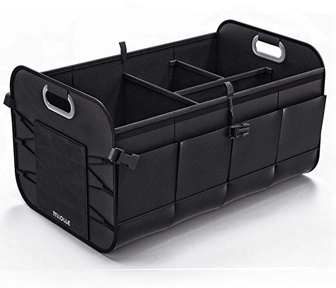 Miolle Trunk Organizer For Car Trunk Storage Organizer Car Suv