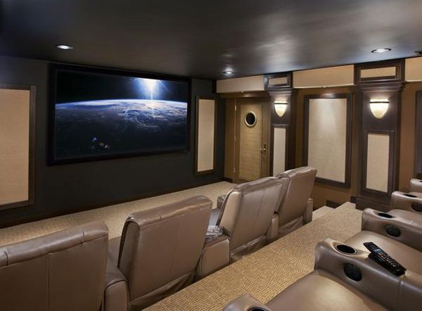 24 Inspiring Home Theater Design : Best Collection From Cedia Part 50