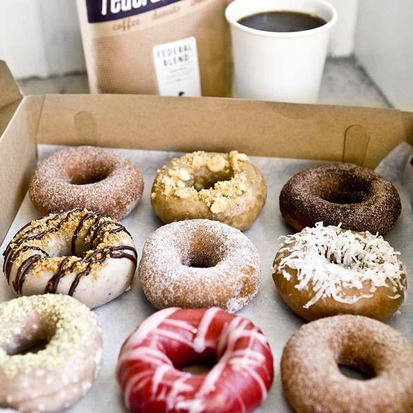 Federal Donuts in Philly >> wacky flavored donuts, coffee and strangely twice fried chicken all at one place! Have you been here?