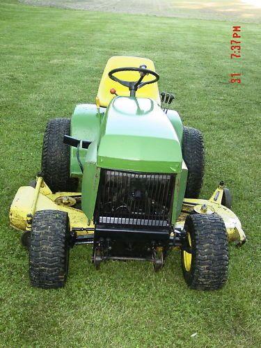 John-Deere-400-Garden-Tractor-60-Mower-Deck-NEW-Engine