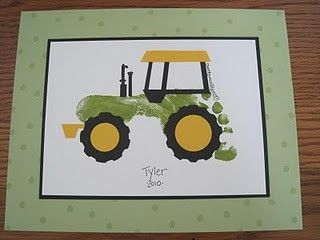tractor foot print -  something definitely to try.