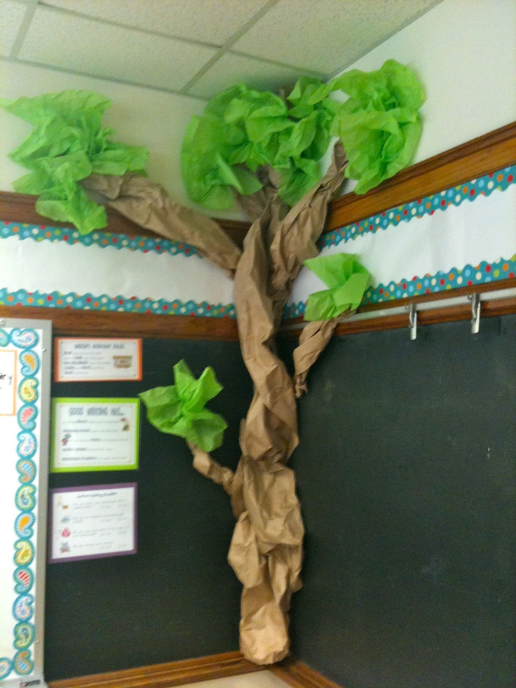 Classroom Decor Tree ~ Best forest themed classroom images on pinterest