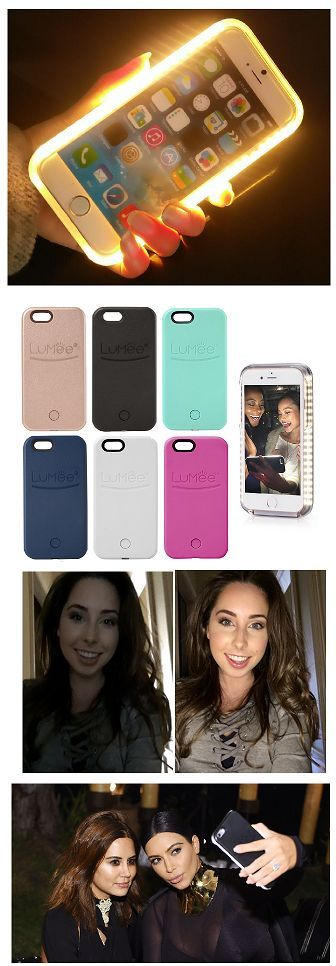 Brighter & better Selfies? Get the Lumee iPhone 6 / 6S / 6S-Plus  with LED Lights built-in