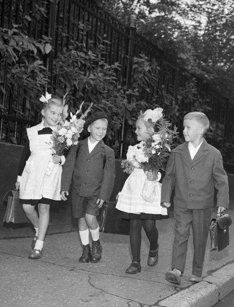 школьники 70-х-schoolchildren 70th