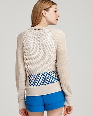 MARC BY MARC JACOBS Sweater - Michelle Mixed Stitch Cardigan |