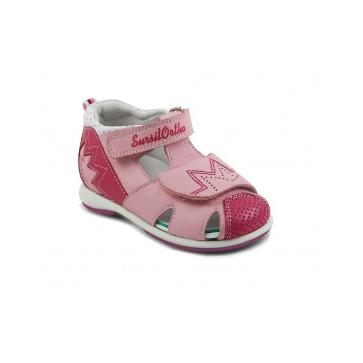 Сандалии розовые для девочек Sursil-Ortho