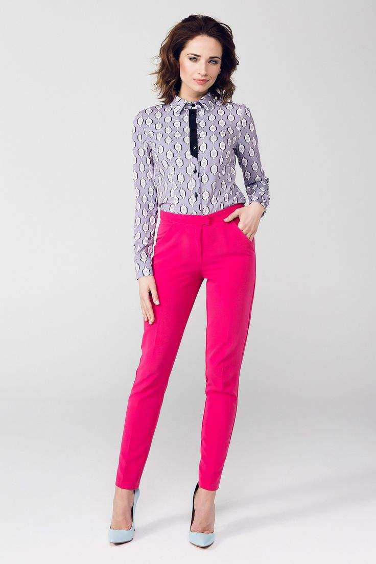 PEPERUNA Pantaloni PE131, roz | PEPERUNA | BRANDURI