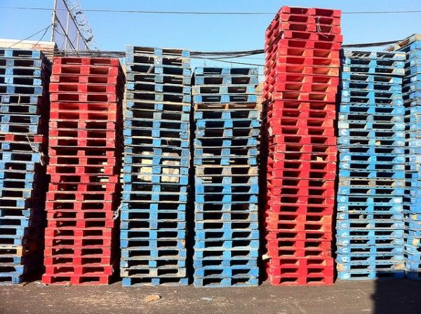 How to tell if a pallet is safe to re-use ? #Pallets #Safety