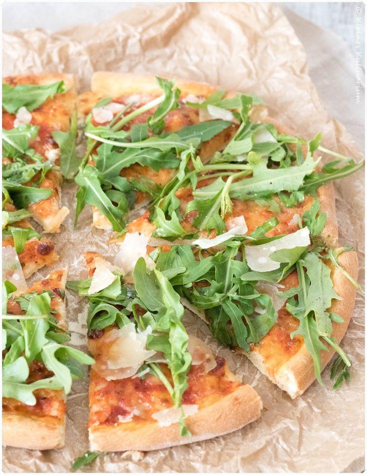 Pizza Rucola  Parmigiano