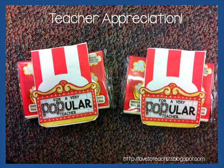 1000+ images about Teacher Appreciation Week on Pinterest ...