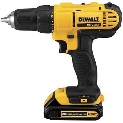 DIY  Tools Dewalt Drill Settings