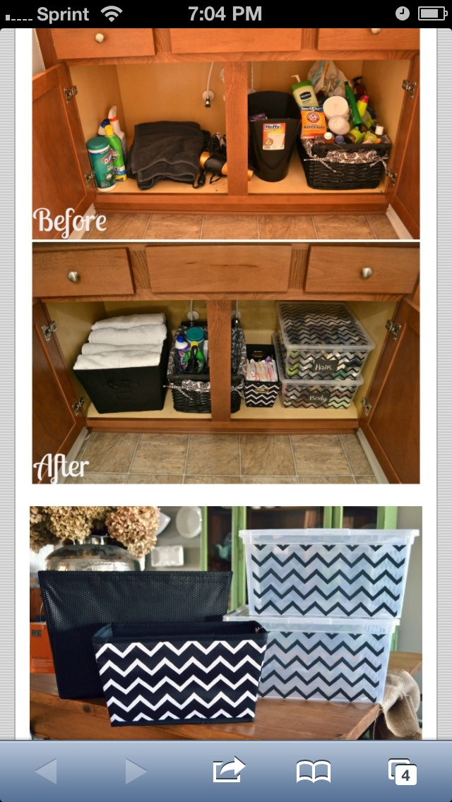 bathroom cabinet organizer ideas pinterest towels easy inexpensive do it yourself ways to organize and