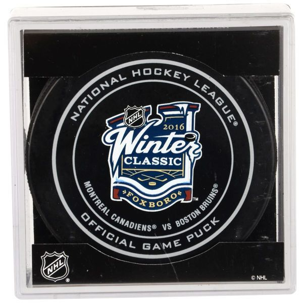 Fanatics Authentic Montreal Canadiens vs. Boston Bruins 2016 NHL Winter Classic Unsigned Official Game Puck - $17.99
