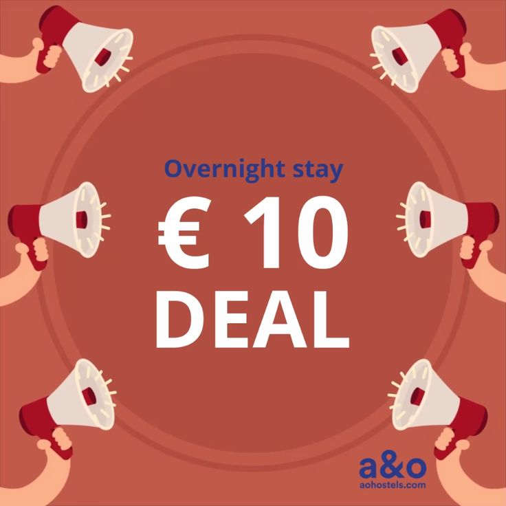 Hostel Deal for less than € 10 per particular person and night time. Keep in a high metropolis in Europe and save massiv in your resort keep. Deal accessible for on-line bookings between April 16th to 18th.Your journey interval: July eighth and 20th.