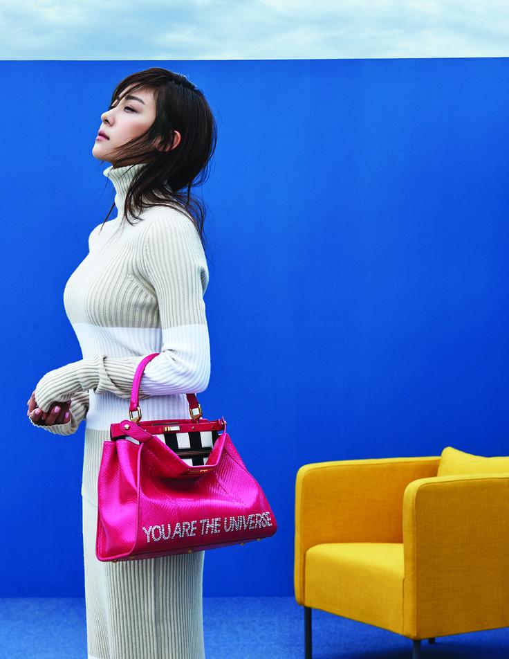 The Fendi Seoul Peekaboo Project with actress Ha Ji-won